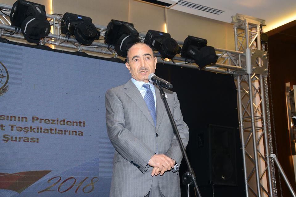 Dövlətimizin gücü həm də bu 30 mindədir - Əli Həsənov