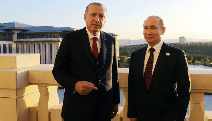 Erdogan, Putin discuss situation in Idlib -