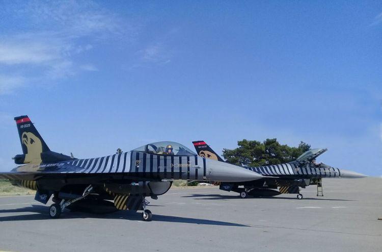 Турецкие F-16 прибыли в Азербайджан - Фото