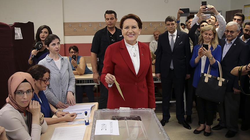Кандидаты в президенты Турции голосуют на выборах