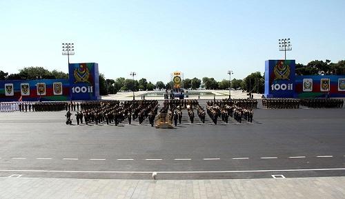 Завтра состоится военный парад