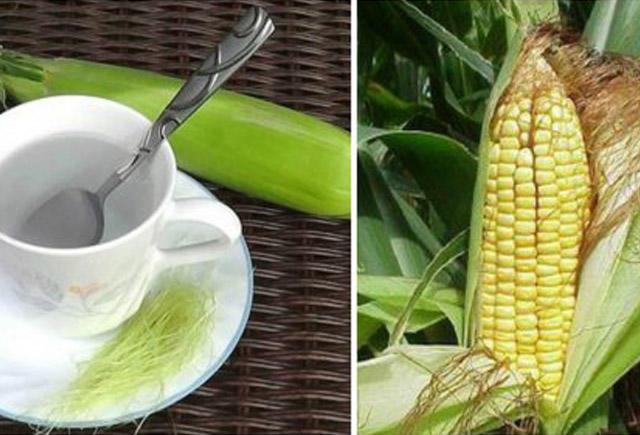 Qarğıdalı saçağı çayının inanılmaz faydaları