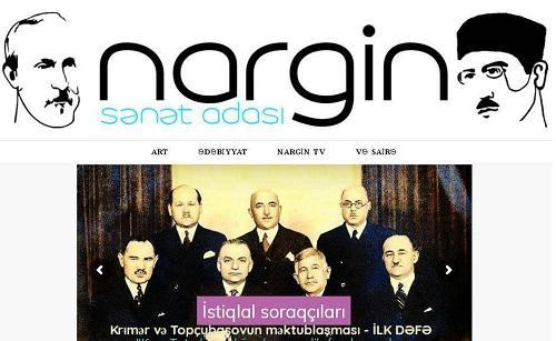 "Azərbaycanda yeni portal yaradıldı - ""Nargin adası"""