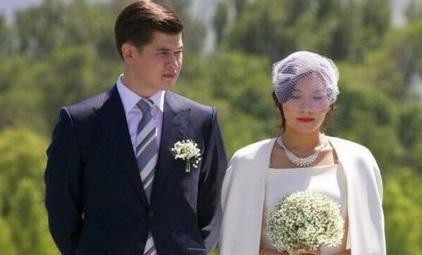Nazarbayevin 18 yaşlı nəvəsi evləndi - Foto