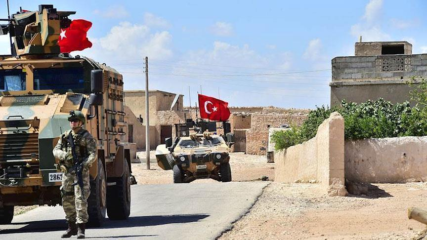 ВС Турции провели 18-й этап патрулирования в Мюнбиче