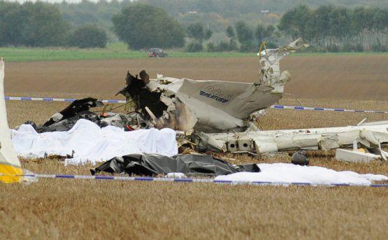 Самолёт лёгкой авиации разбился в Караганде
