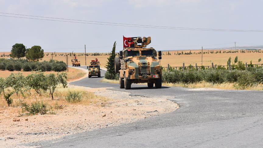 ВС Турции провели 51-й этап патрулирования в Мюнбиче
