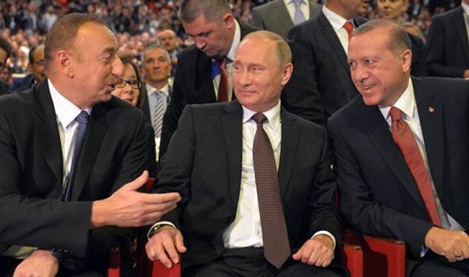 Ərdoğan-Putin görüşü öncəsi Əliyev nələrə işarə etdi? - Video