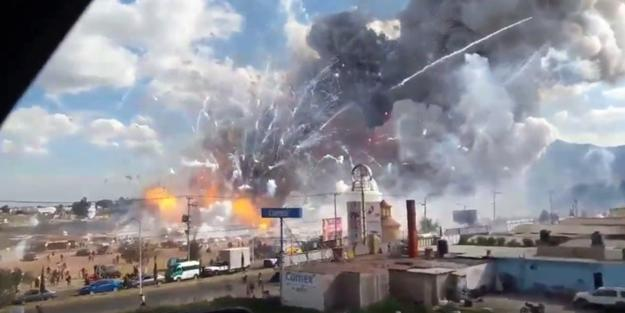 مکسیکادا نفت اوغورلوغو فاجعه ایله بیتدی: ۶۶ اؤلو، ۷۶ یارالی