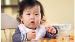 'Babies given solid food sooner sleep better'