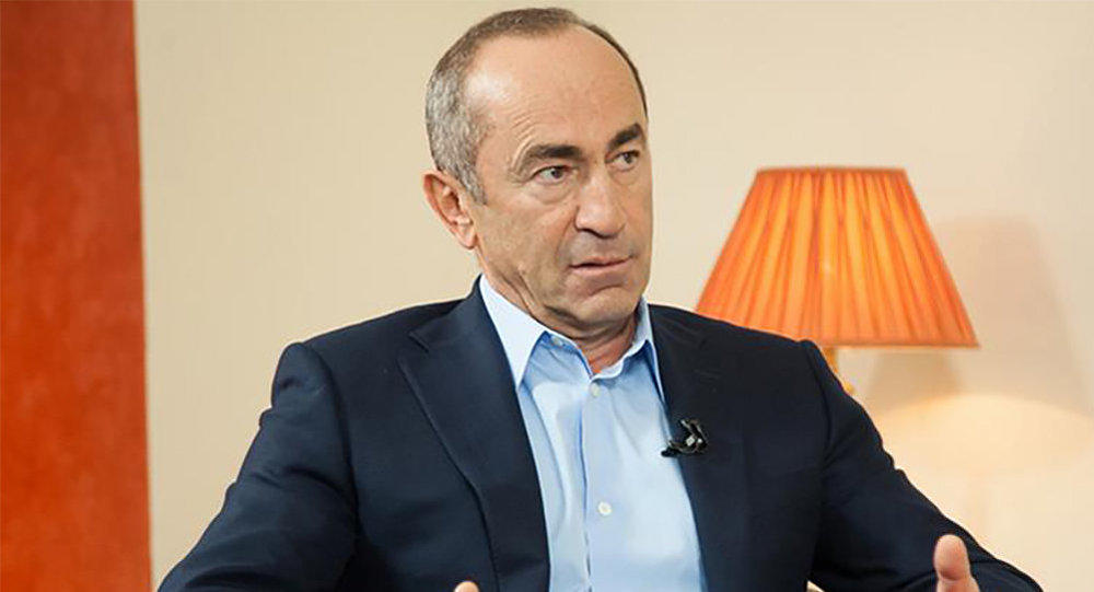 Kocharyan arrested -