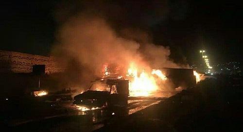 İranda yanacaq tankeri maşınla toqquşdu: ölənlər var