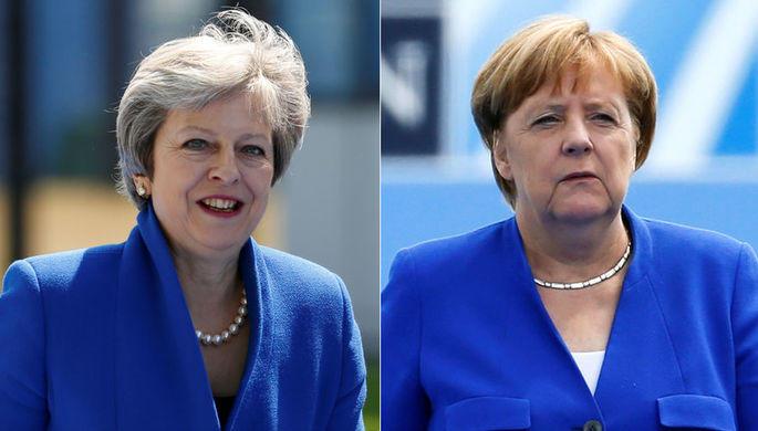 Мэй намерена встретиться с Меркель