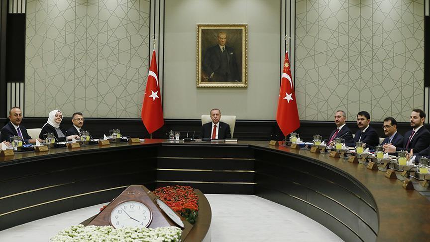 Эрдоган реорганизовал правительство