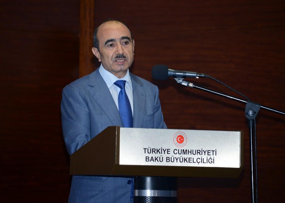 Али Гасанов на конференции в Кайсери