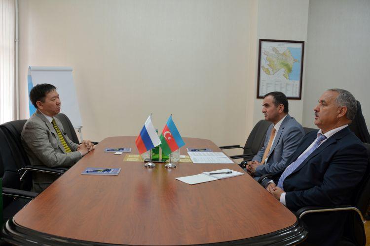 DGK-da Rusiya gömrükçüləri ilə görüş - Foto