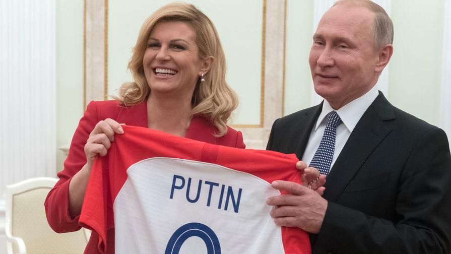 Глава Хорватии выступила против изоляции России