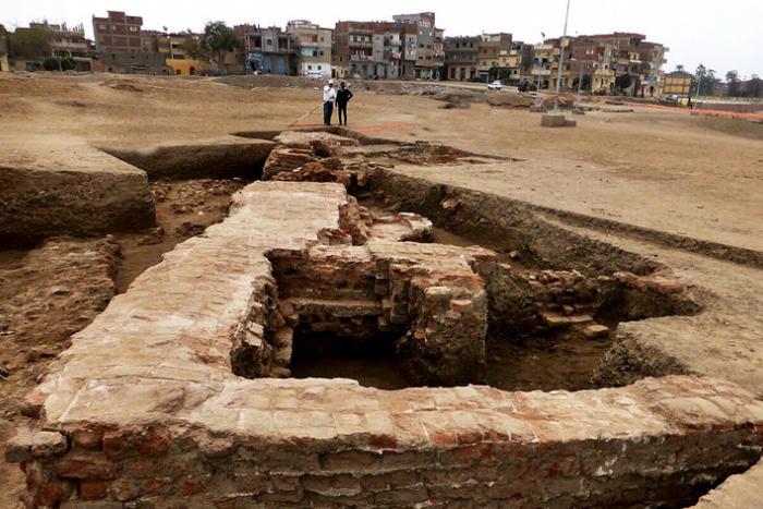 В Египте раскопали погребальную мастерскую
