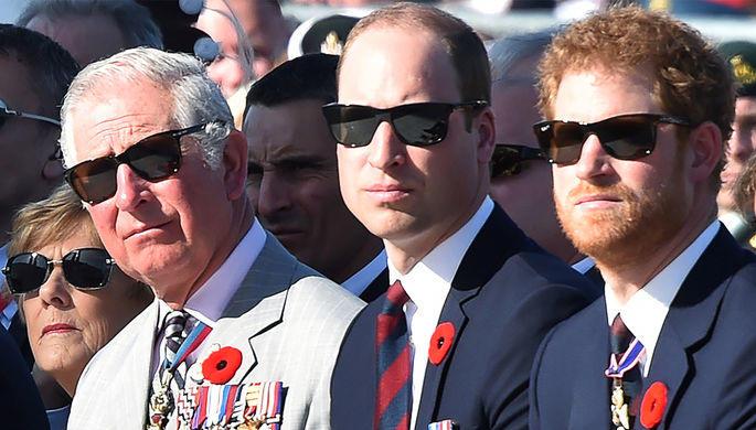 Принцы Чарльз и Уильям отказались встретиться с Трампом