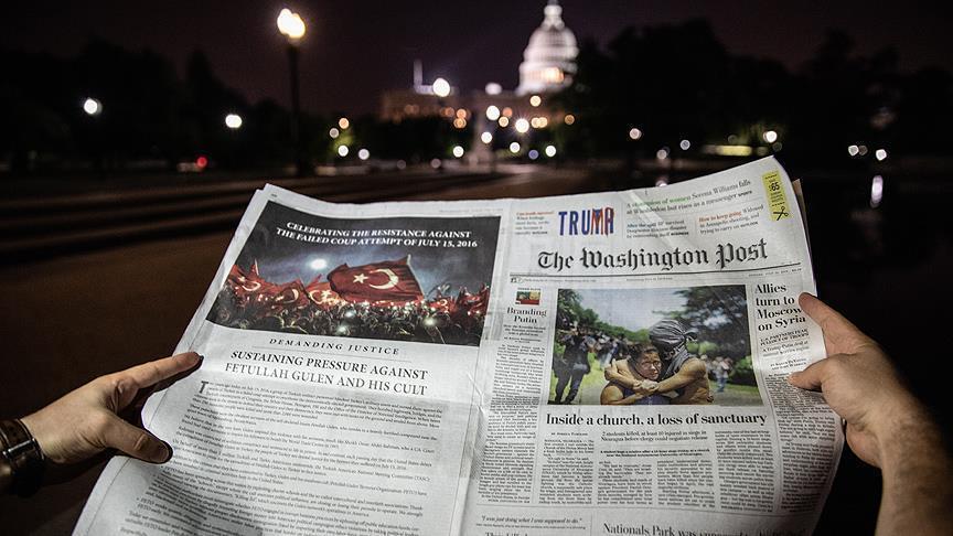The Washington Post предупреждает об угрозе FETÖ