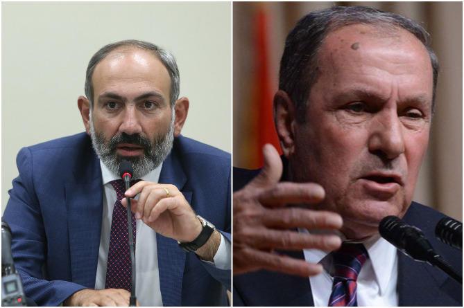 Пашинян и Тер-Петросян обсудили Карабах