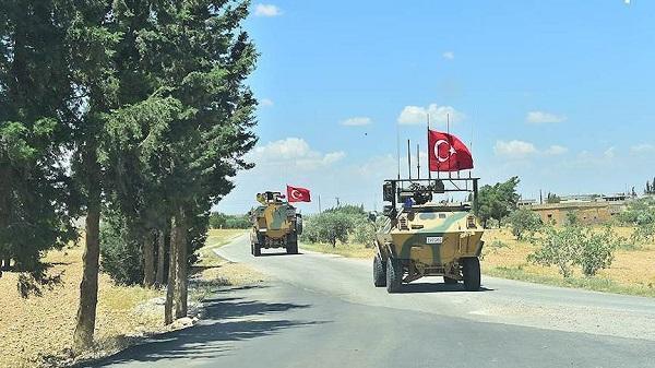 ВС Турции провели 15-й этап патрулирования в Мюнбиче