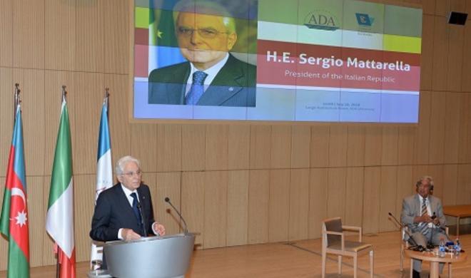Президент Италии о Карабахе