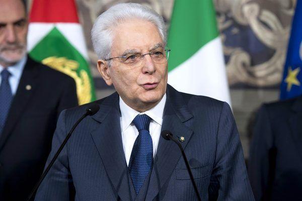 Президент Италии обратился к нации
