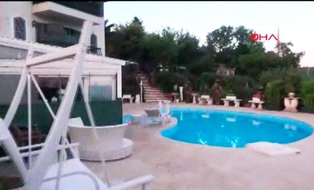 Adnan Oktarın villasının görüntüləri yayıldı - Video