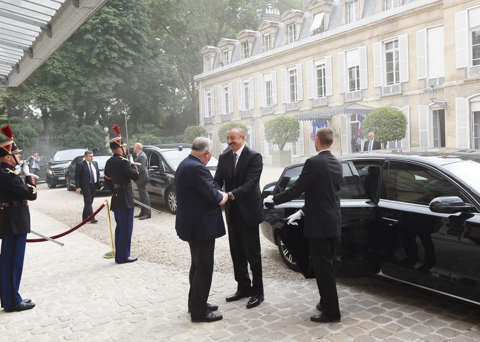 Парижские встречи Ильхама Алиева - Фото