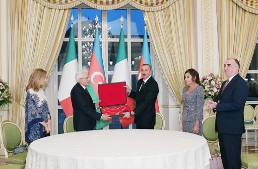 Алиевы стали Кавалерами Большого креста