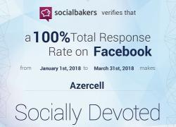 """""""Azercell"""" sosial mediada da liderdir!"""