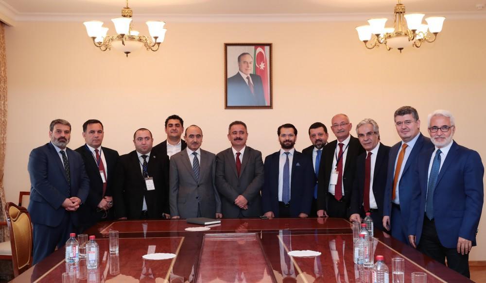 Əli Həsənov türkiyəli jurnalistlərlə görüşdü - Foto