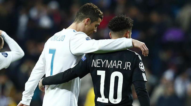Неймар о переходе Роналду в «Ювентус»