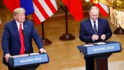 Kremlin 'pleased' with Trump-Putin summit