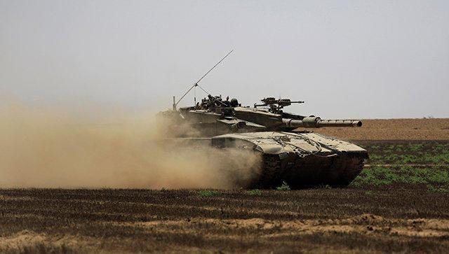 Израильский танк обстрелял военный пост ХАМАС