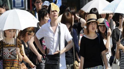 В Японии 13 человек погибли за день от жары