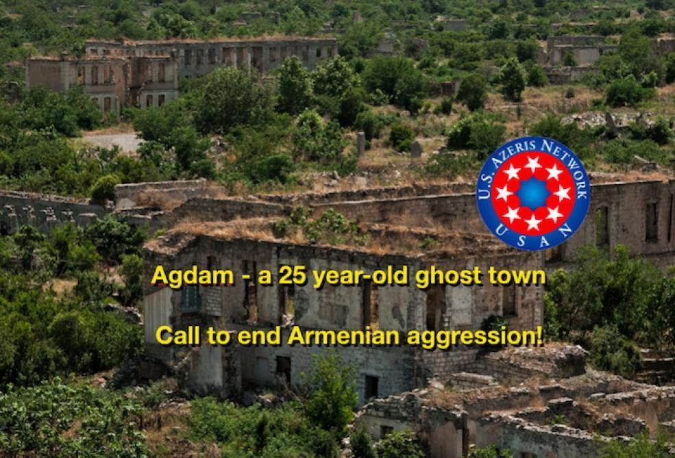 USAN начала кампанию в США в связи с оккупацией Агдама