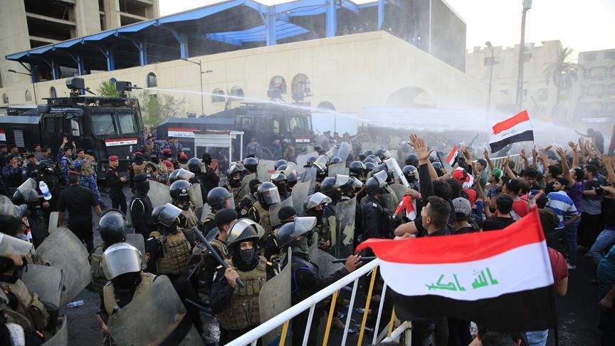 Sistani calls on protesters to counter violent rioters