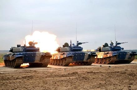 Air Defense Units conducted combat firing -