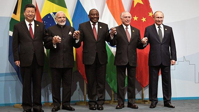 BRICS leaders agree to coordinate efforts