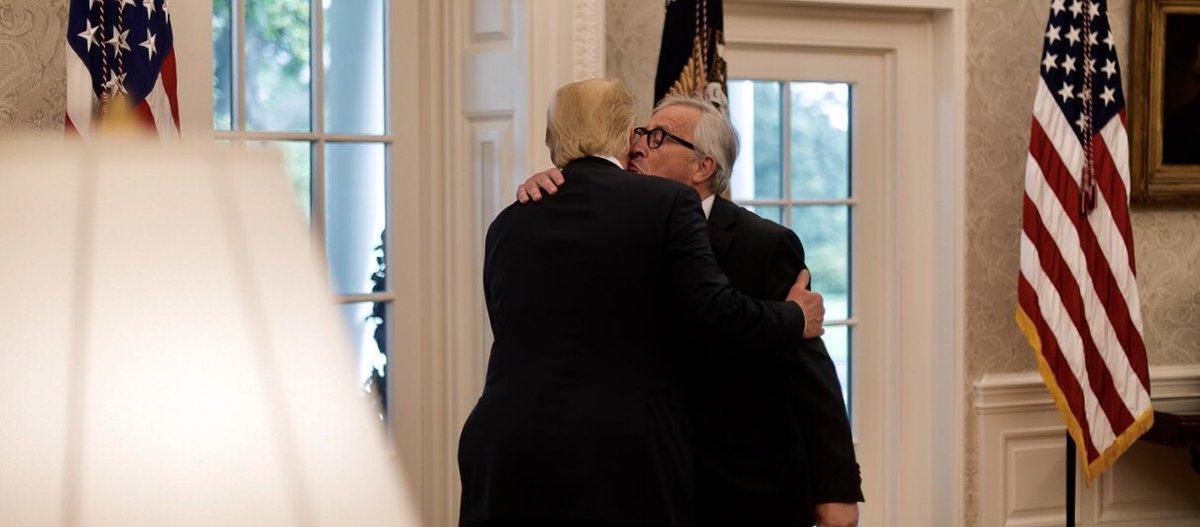 """Trump calls EU President Juncker """"nasty"""""""