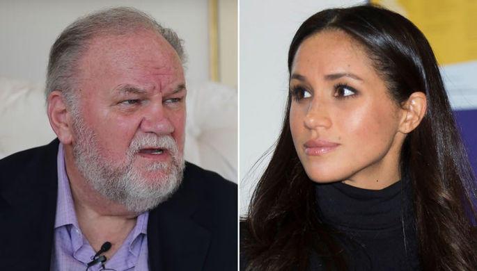 Отец Меган Маркл раскритиковал дочь