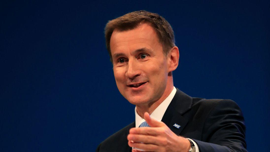 Jeremy Hunt: Next PM 'must be trustworthy -