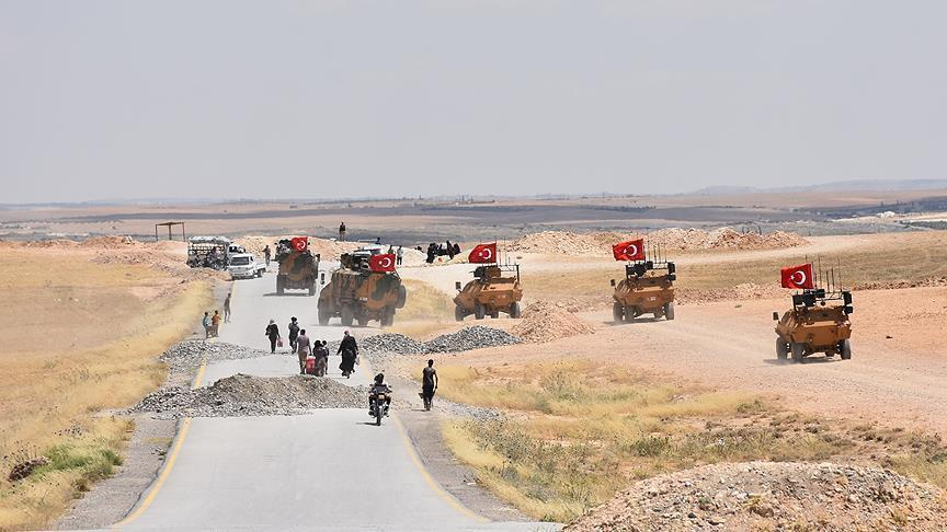 ВС Турции провели 50-й этап патрулирования в Мюнбиче