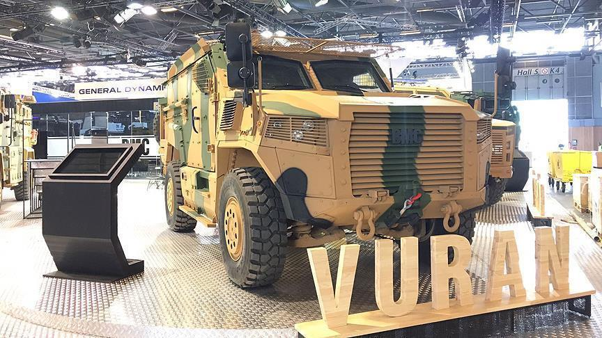 "Turkey's modernized ""Vuran"" military vehicle - Video"