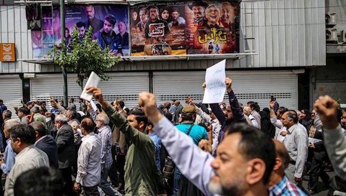 ایراندا اعتراضچیلار هئلیکوپتئرلردن وورولور - شوک ادعا