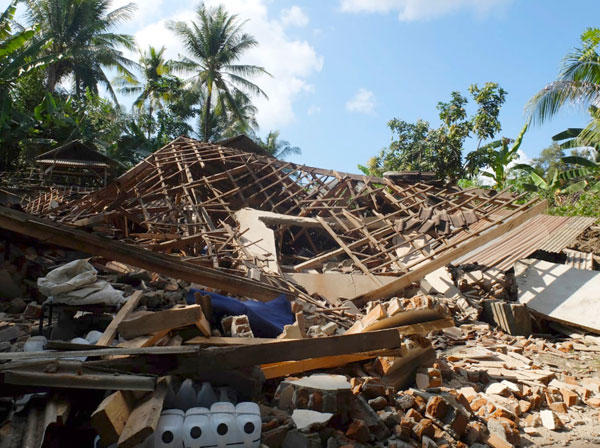 Indonesia earthquake killed 45 people