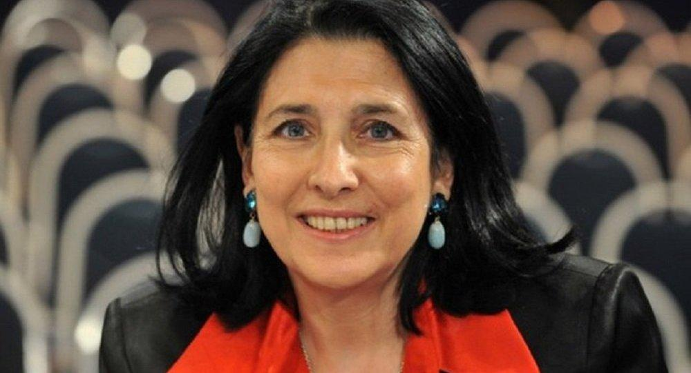 Французский президент для Грузии