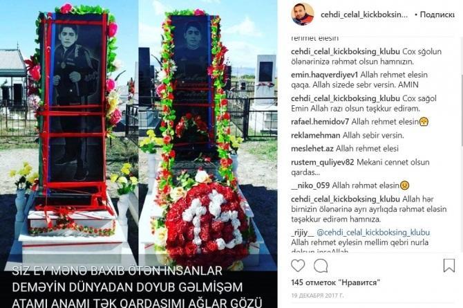 Oğlunu itirən idmançımızın ürəyi partladı - Foto